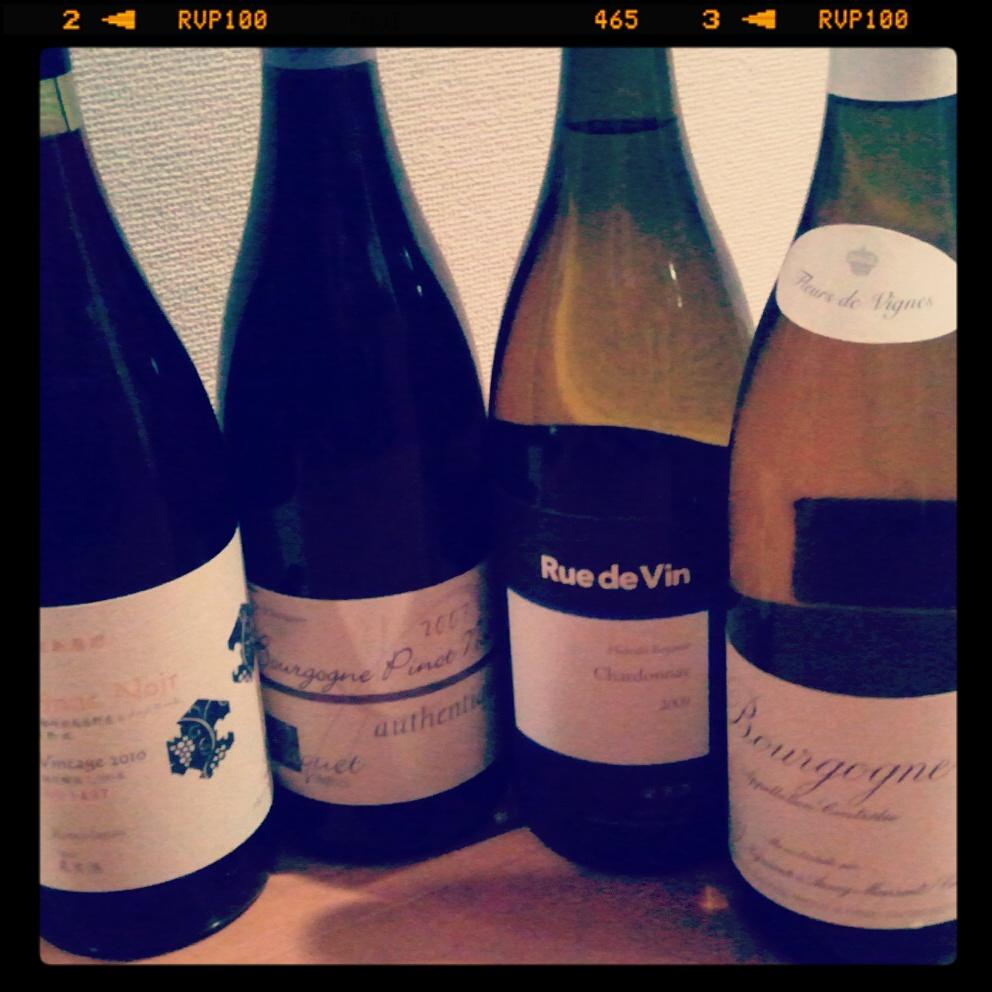 IMG 20121215 010143 連続ワイン会「日本ワインのてがかり(3)~ピノ&シャルドネ篇~」開催します。